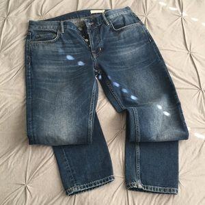 skinny jeans men allsaints pistol size 33